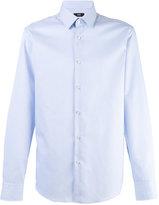 HUGO BOSS plain shirt - men - Cotton - 40