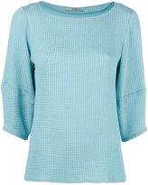 Etro boat neck blouse