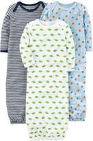 Simple Joys by Carter's Boys' 3-Pack Cotton Sleeper Gown