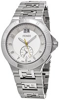 Fendi Men's 'High Speed' Swiss Quartz Stainless Steel Dress Watch, Color:Silver-Toned (Model: F477160B)