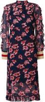 Baum und Pferdgarten ruffled floral dress