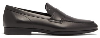 Tod's Leather Penny Loafers - Black