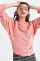 Truly Madly Deeply Ruched Long-Sleeve Top