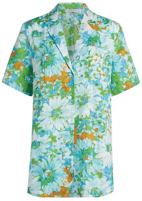 Faithfull The Brand Charlita Floral Shirt Dress