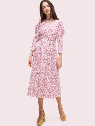 Kate Spade marker floral devore dress