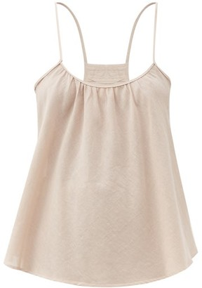 Loup Charmant Scoop-neck Organic-cotton Cami Top - Light Pink