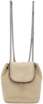 Stella McCartney Beige Mini Falabella Backpack