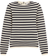 Sonia Rykiel Striped Knitted Sweater - Navy
