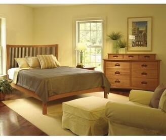 Copeland Furniture Berkeley Platform Bed Size: King, Color: Natural Cherry