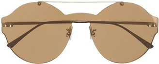 Bottega Veneta Round Sunglasses
