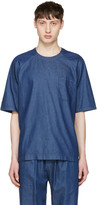 Sunnei Blue Chambray Oversized T-shirt