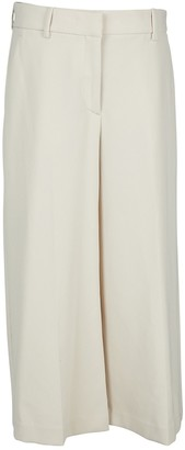 Theory Beige Synthetic Trousers