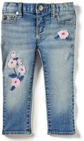 Infant Girl's Peek Maya Embroidered Jeans