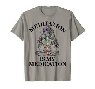 Kundalini Meditation is my Medication Yoga Chakra Spiritual T-Shirt