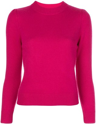 Co Fitted Round-Neck Jumper
