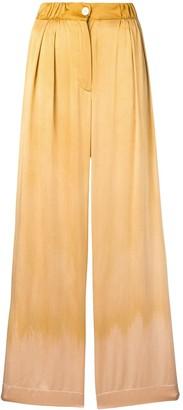 Raquel Allegra Keaton satin trousers