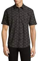 Theory Wool Button-Down Shirt