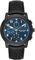 Michael Kors PAXTON Chronograph watch schwarz/blau