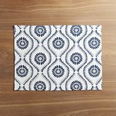 Crate & Barrel Kiran Indigo Placemat