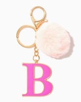Charming charlie Furry Initial B Keychain