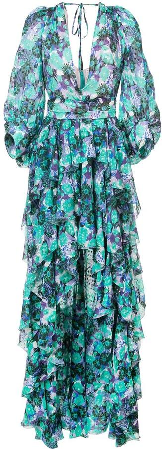 Ungaro long hi-low dress