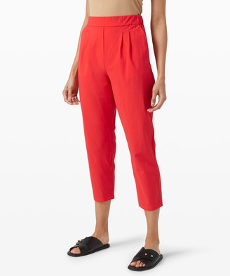 Lululemon Your True Trouser High Rise Crop