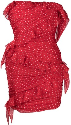 Philosophy di Lorenzo Serafini Polka Dot-Print Mini Dress