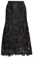 Christopher Kane Love Hearts Lace Skirt