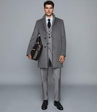 Reiss Hope - Modern Fit Travel Waistcoat in Grey
