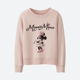 Uniqlo GIRLS Disney Collection Sweat Long Sleeve Pullover