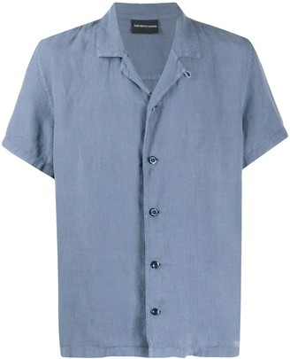 Emporio Armani Short-Sleeve Fitted Shirt