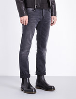 Nudie Jeans Grim Tim Dark Days regular-fit straight-leg jeans