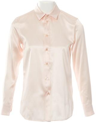 Saint Laurent Pink Silk Top for Women