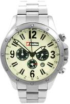 Lotto men's Quartz Watch Analogue Display and Stainless Steel Strap LM0005.88.06BR22AC