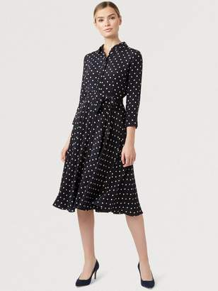 Hobbs Lainey Dress - Navy/Bamboo
