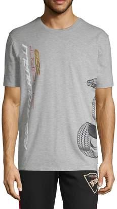 Roberto Cavalli Sport Snake Graphic T-Shirt