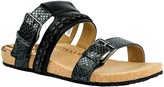 Revitalign Slip-On Leather Sandals - Sofia
