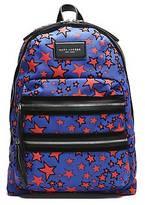 CONTEMPORARY Flocked Stars Printed Biker Backpack