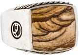 David Yurman Jasper Signet Ring