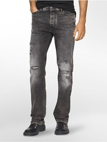 Calvin Klein Straight Leg Capri Wash Jeans