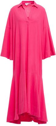 Rhode Resort Gia Cotton Midi Shirt Dress