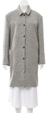Acne Studios Wool-Blend Knee-Length Coat