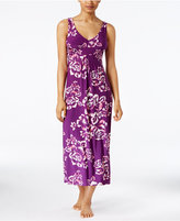 Alfani Floral-Print V-Neck Nightgown, Only at Macy's