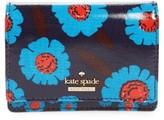 Kate Spade Women's Cameron Street Floral - Beca Wallet - Blue