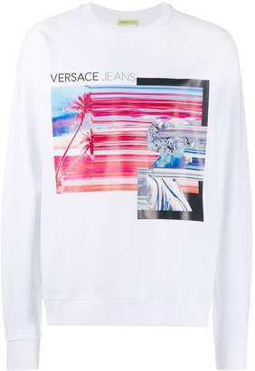 Versace graphic print sweatshirt