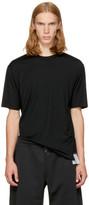 Satisfy Black Merino Short T-shirt