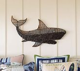 Pottery Barn Kids Woven Shark