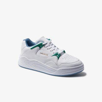 Lacoste Men's Court Slam Tumbled Leather Sneakers
