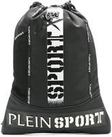 Plein Sport drawstring logo backpack