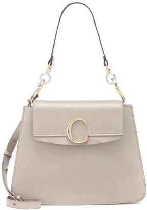 Chloé C Medium leather shoulder bag